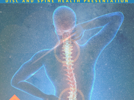 Join Dr. Yvonne Ramirez for a Disc and Spine Health Presentation Monday June 11th, 2018 6pm-7pm