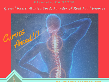 Join Dr. Yvonne Ramirez & Special Guest Monica Ford for a Disc and Spine Health Presentation Sat