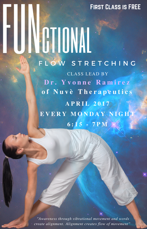 April FUNctional Flow Stretching Class