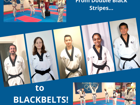 CW's First Ever Black Belt Test