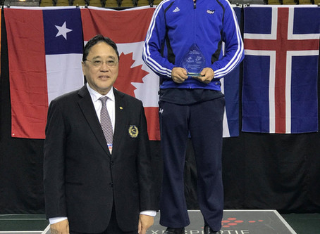 Master Chuang Named Best Coach 2017 Canada Open