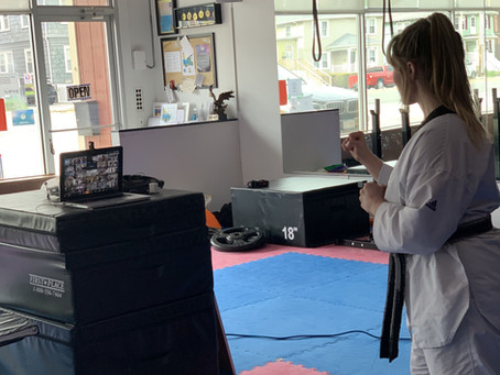 CW is offering LIVE Youth TKD Class