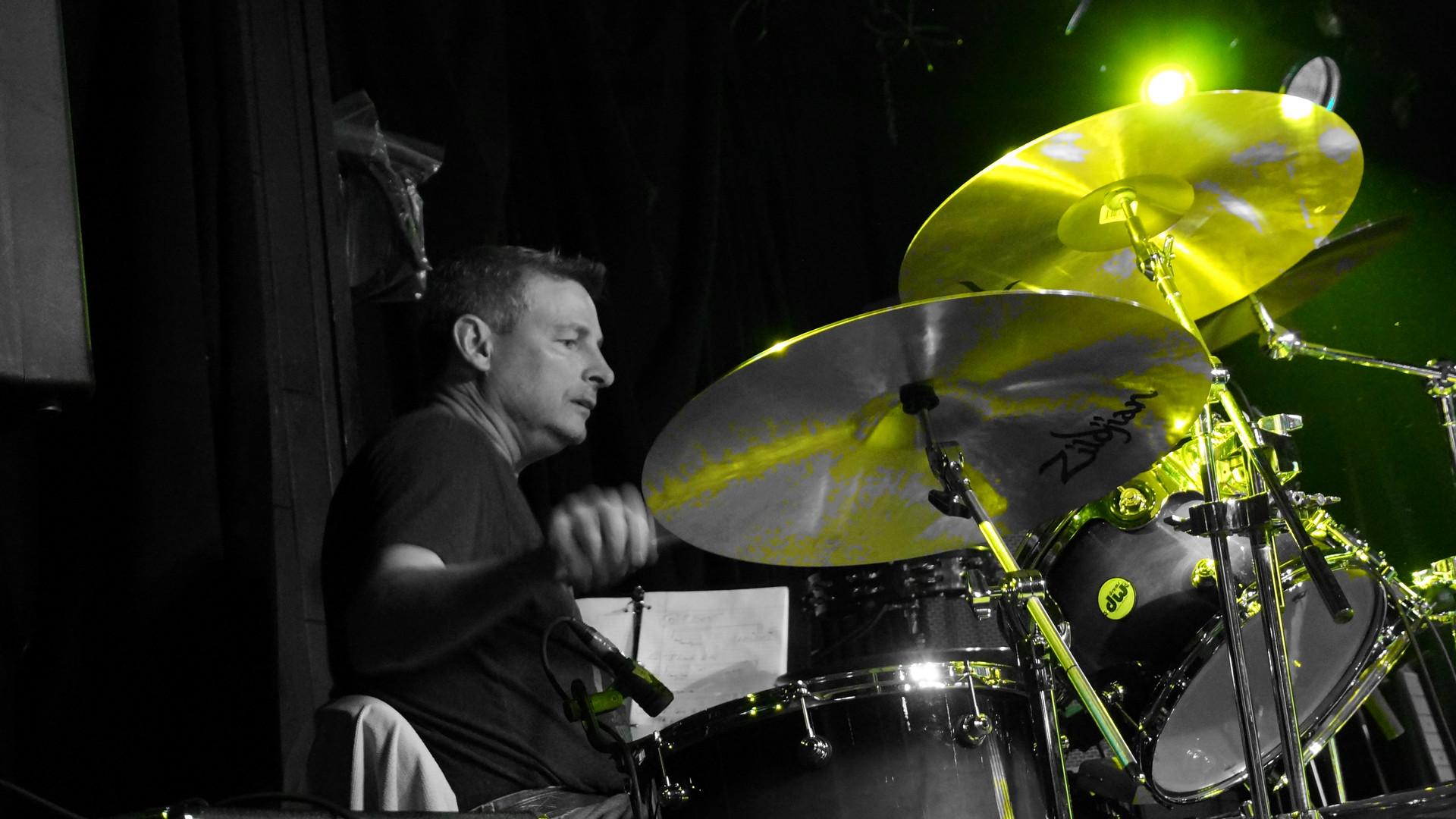 Kelly on Drums
