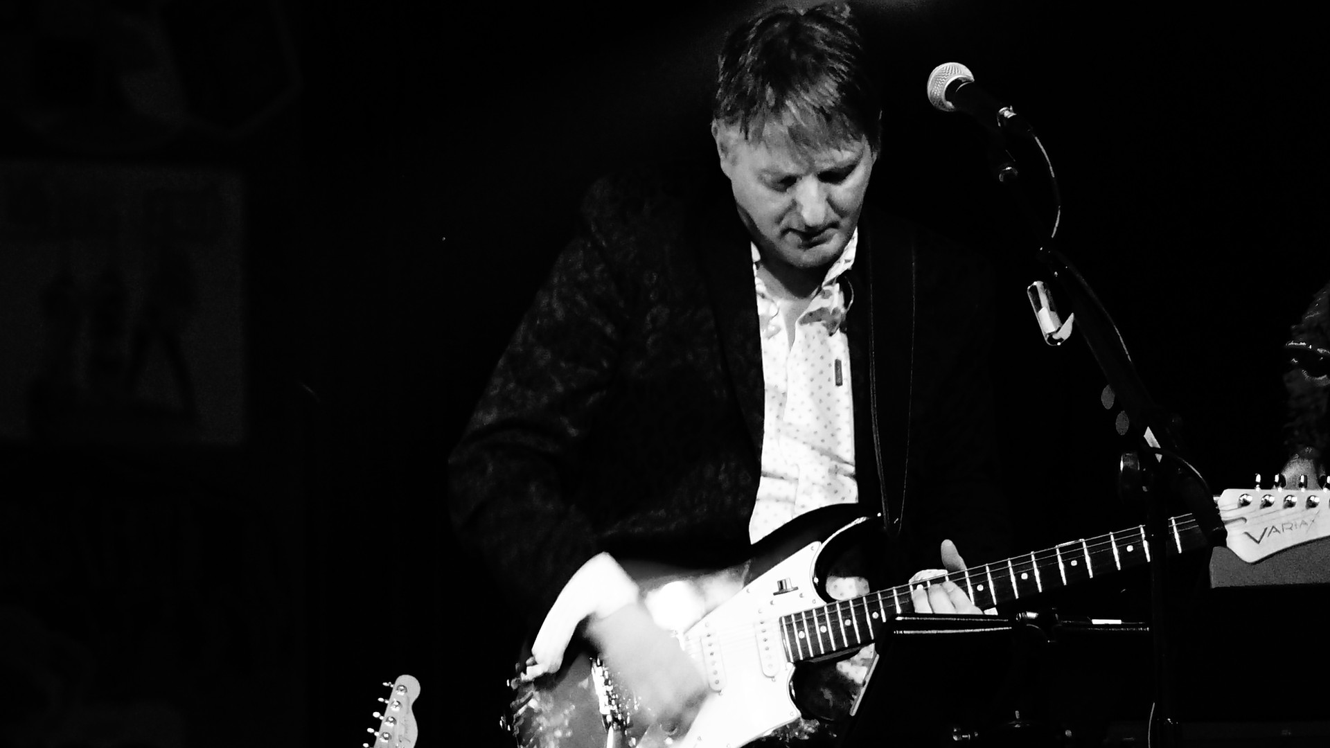 Ted on Guitar