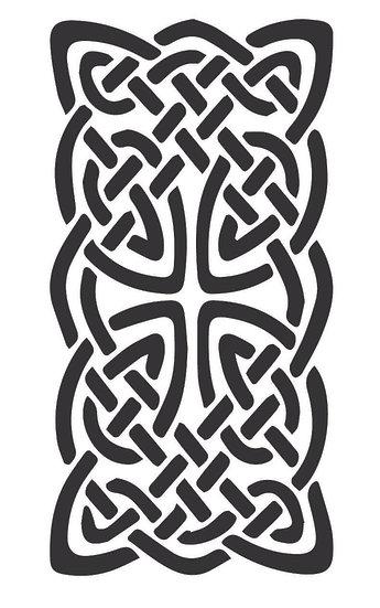 Sablon 3D Celtic Knot 40x60cm  (6087)