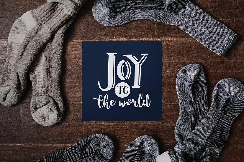 Sablon Joy to the world A4 (1161)
