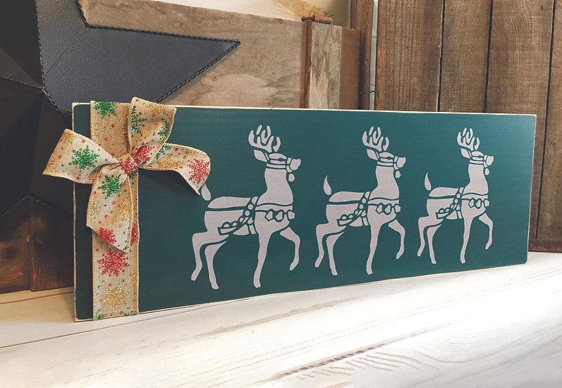 Reindeer 10x21cm (2016)