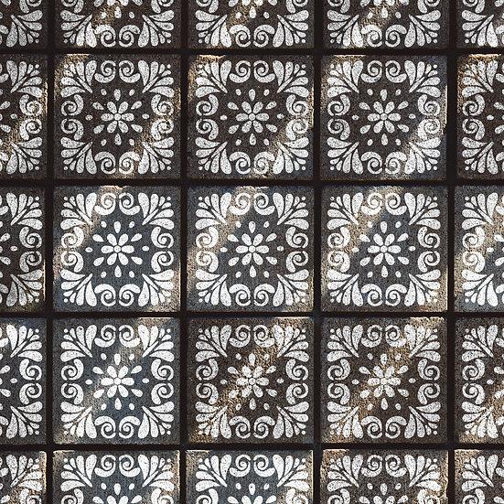 Sablon decorativ Pin Tile  20x20cm (1180)
