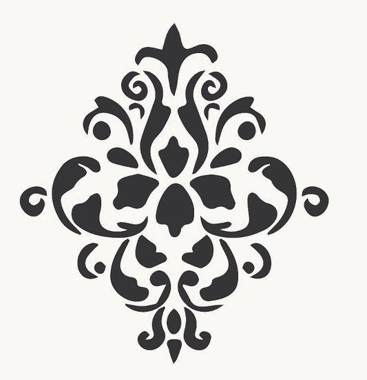Sablon 3D Baroque  50x50 cm  (6007)
