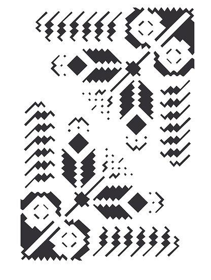 Sablon 3D Romanian Corner Folk 50x70 cm (6123)