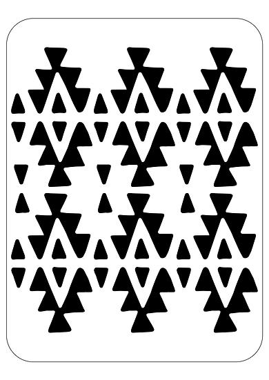 Sablon decorativ A4 SHEBA (1209)
