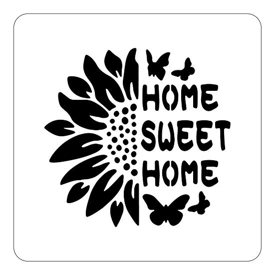 Sablon Sweet Home A4 (1315)