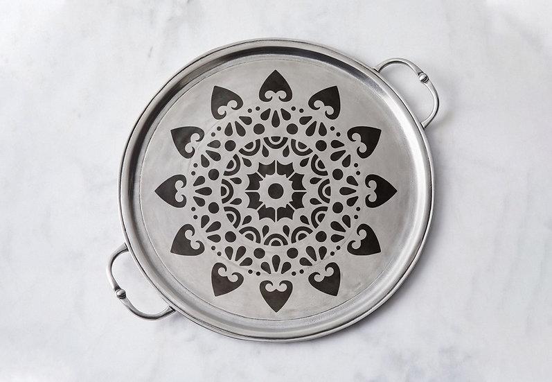 Sablon pereti Magic Mandala  30x30 cm  (4007)