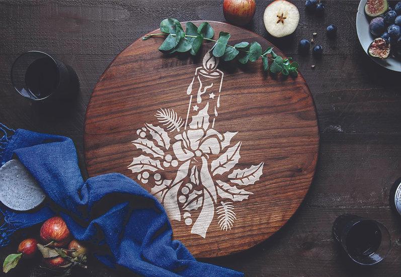 Christmas Candle  2 (1121)
