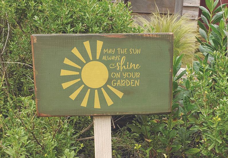 Sablon Sun Garden A4 (1129)