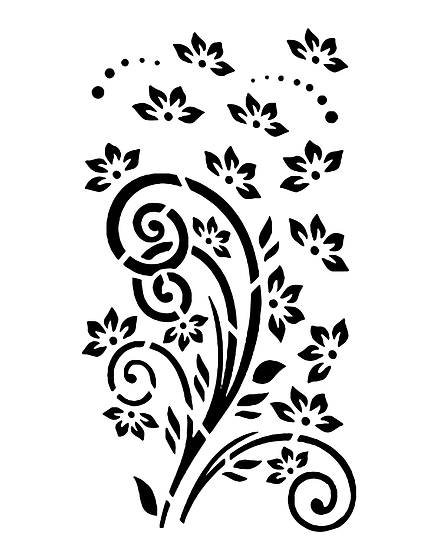 Curly Flower (1036)
