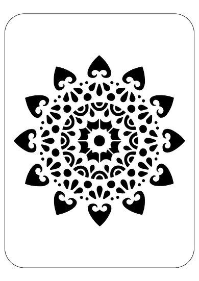 Sablon 3D Mandala Magic 30x30 cm (6058)
