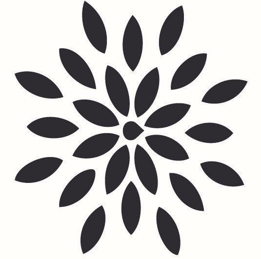 Sablon decorativ SUN A4 (1018)