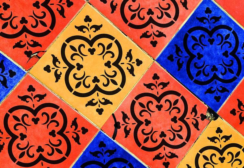 Sablon pereti Wing Tile  30x30 cm  (4016)