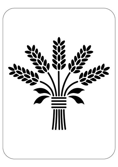 Sablon Wheat Bouquet A4  (1265)