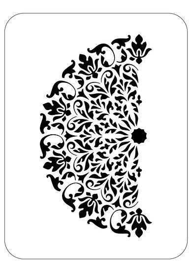 Sablon 3D Mandala Nory 50x70 cm  (6034)