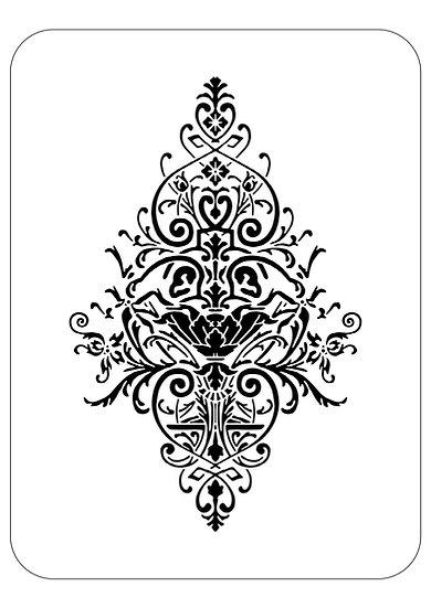 Sablon 3D  Chandelier  50x70 cm  (6031)