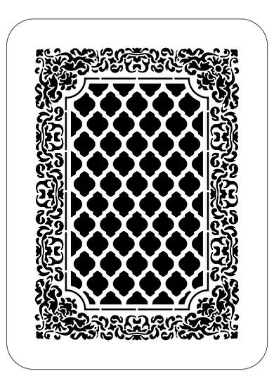 Sablon decorativ 3D Carpet 50x70cm  (6065)
