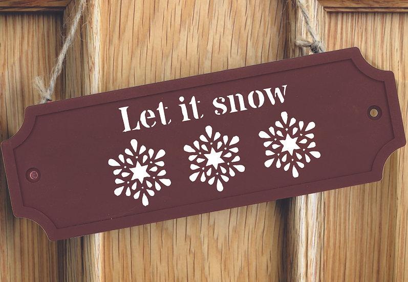 XS Let it snow 10x21cm (2014)