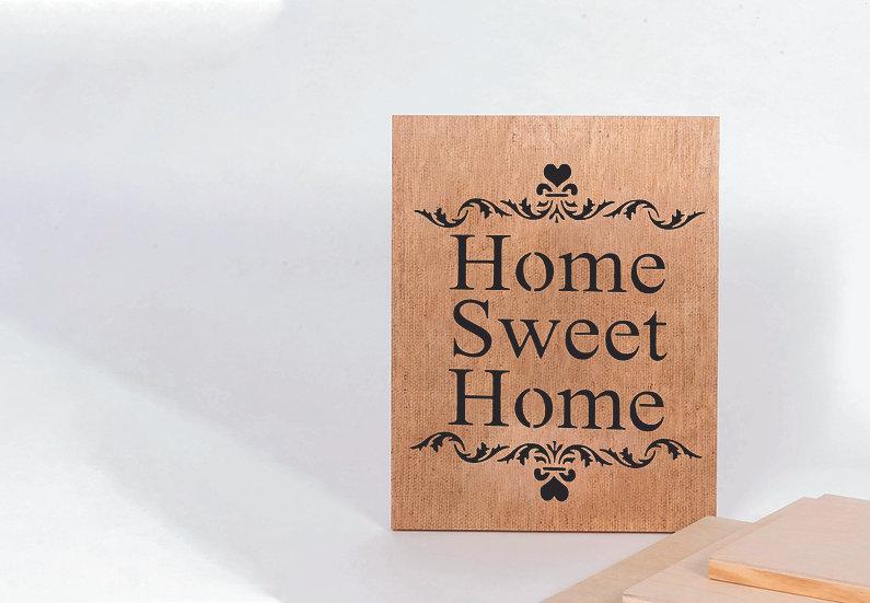 Home sweet home A4 (1107)