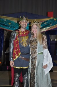 King and Queen Lombardo were crowned as the leaders of the Mavericks.