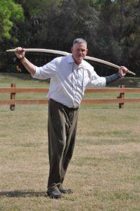 Mr. Davis is the archery coach
