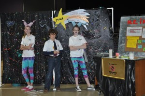 The OM middle school team gave an out-of-this-world performance.