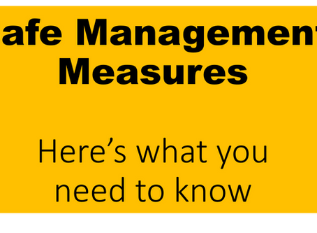 Safe Management Measures Plan- Starting our Economy