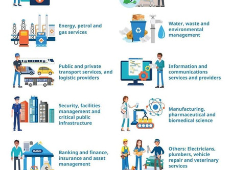 What are Essential Services in Singapore