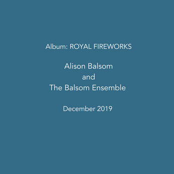 New recording: Royal Fireworks
