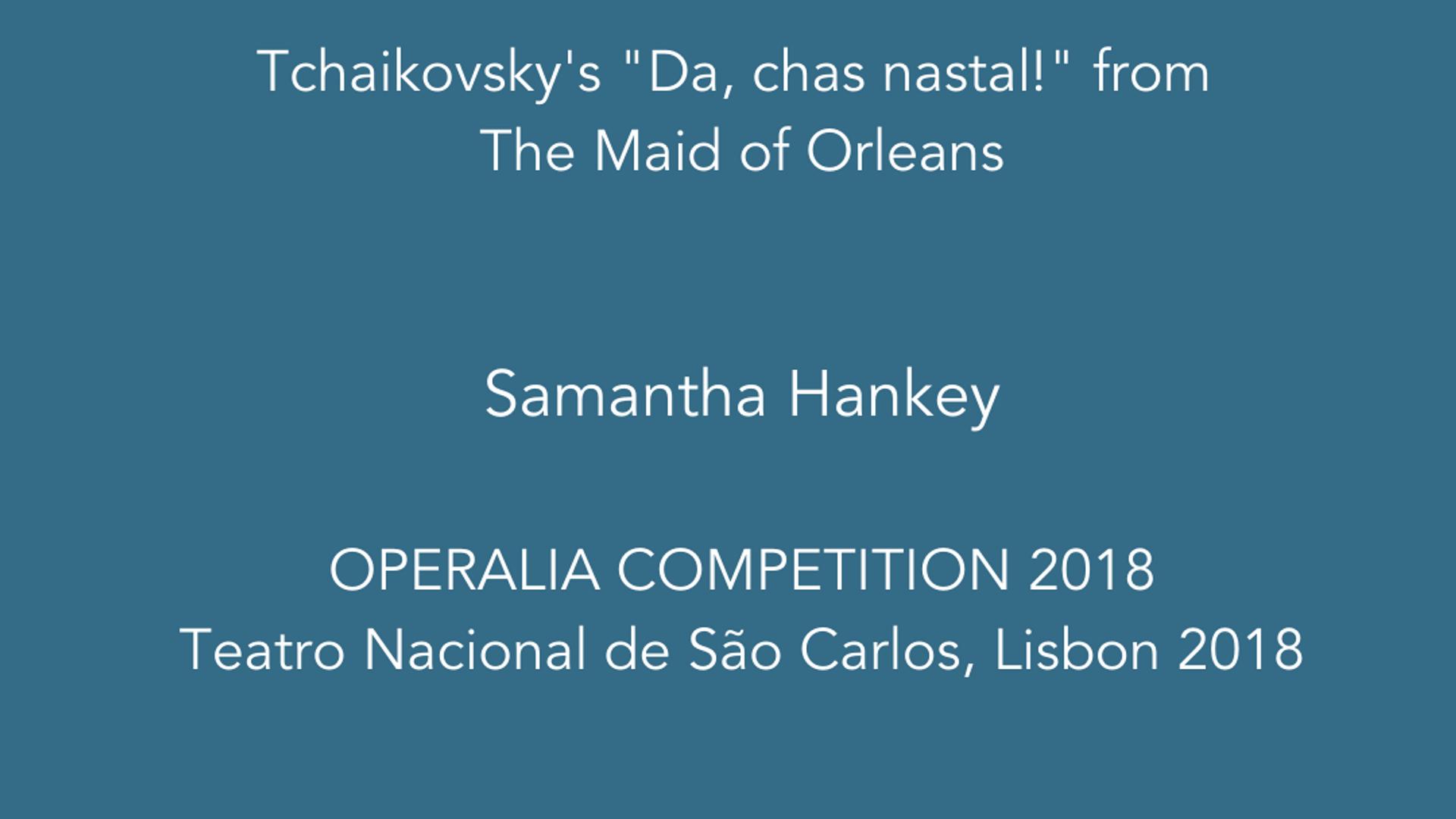 OPERALIA 2018, Teatro Nacional de São Carlos, Lisbon 2018