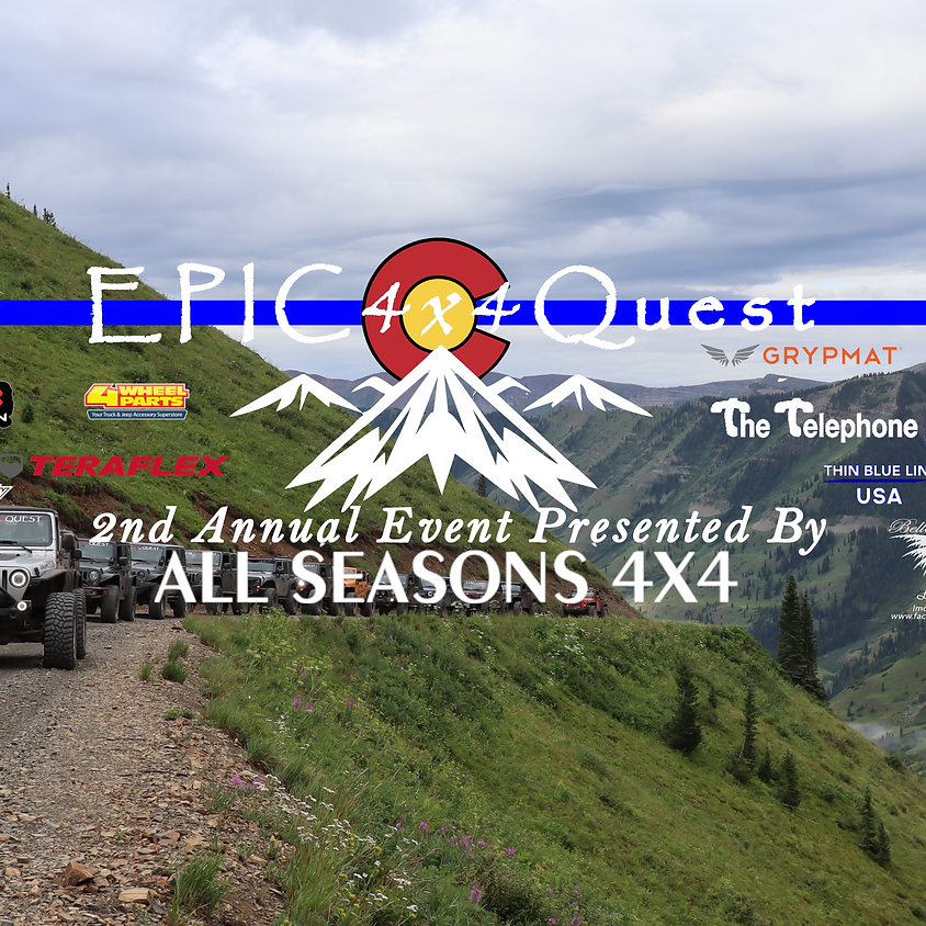 EPIC 4x4 Quest 2nd Annual Event 2020