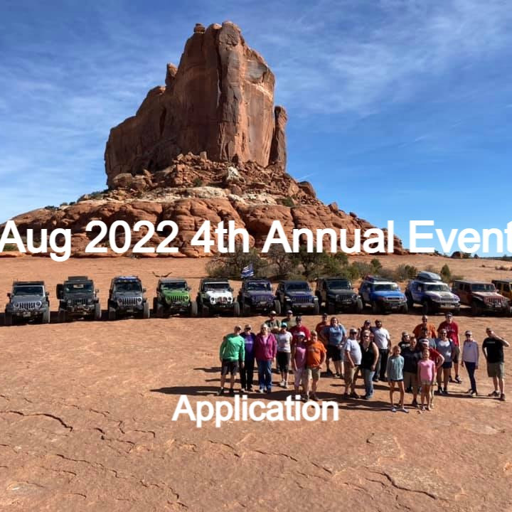 4th Annual Event Application