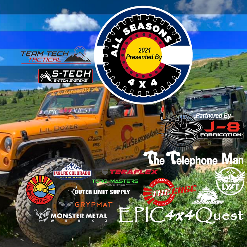 EPIC 4x4 Quest 3nd Annual Event 2021