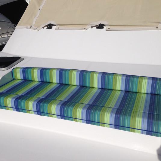Striped bow cushions.JPG
