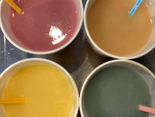 粉末色素(レーキ顔料)で石けんを着色