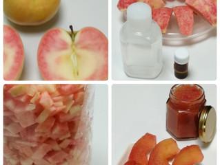 赤いリンゴのフレッシュジャム