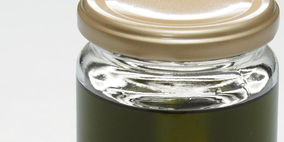 HVEチンキと等張性化粧水を作る