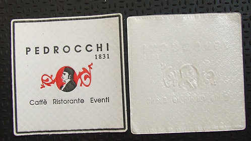 Bolacha / Porta Copo Café Pedrocchi