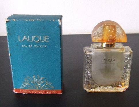 Vidro de Perfume Lalique - Vazio