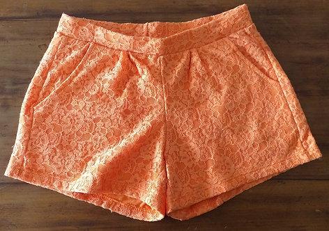 Short Zara Girls Renda