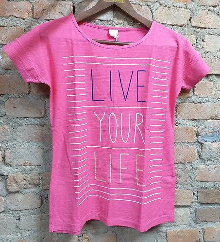 Camiseta Simply Basic Live Your Life