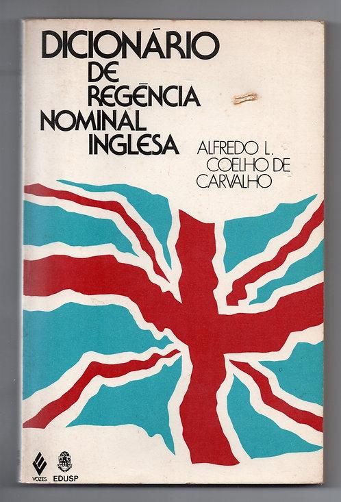 Dicionário de Regência Nominal Inglesa