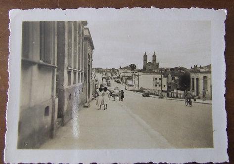 Foto Antiga - Rua Roma