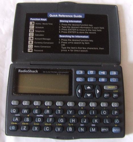 Agenda eletrônica RadioShack EC 295 3K